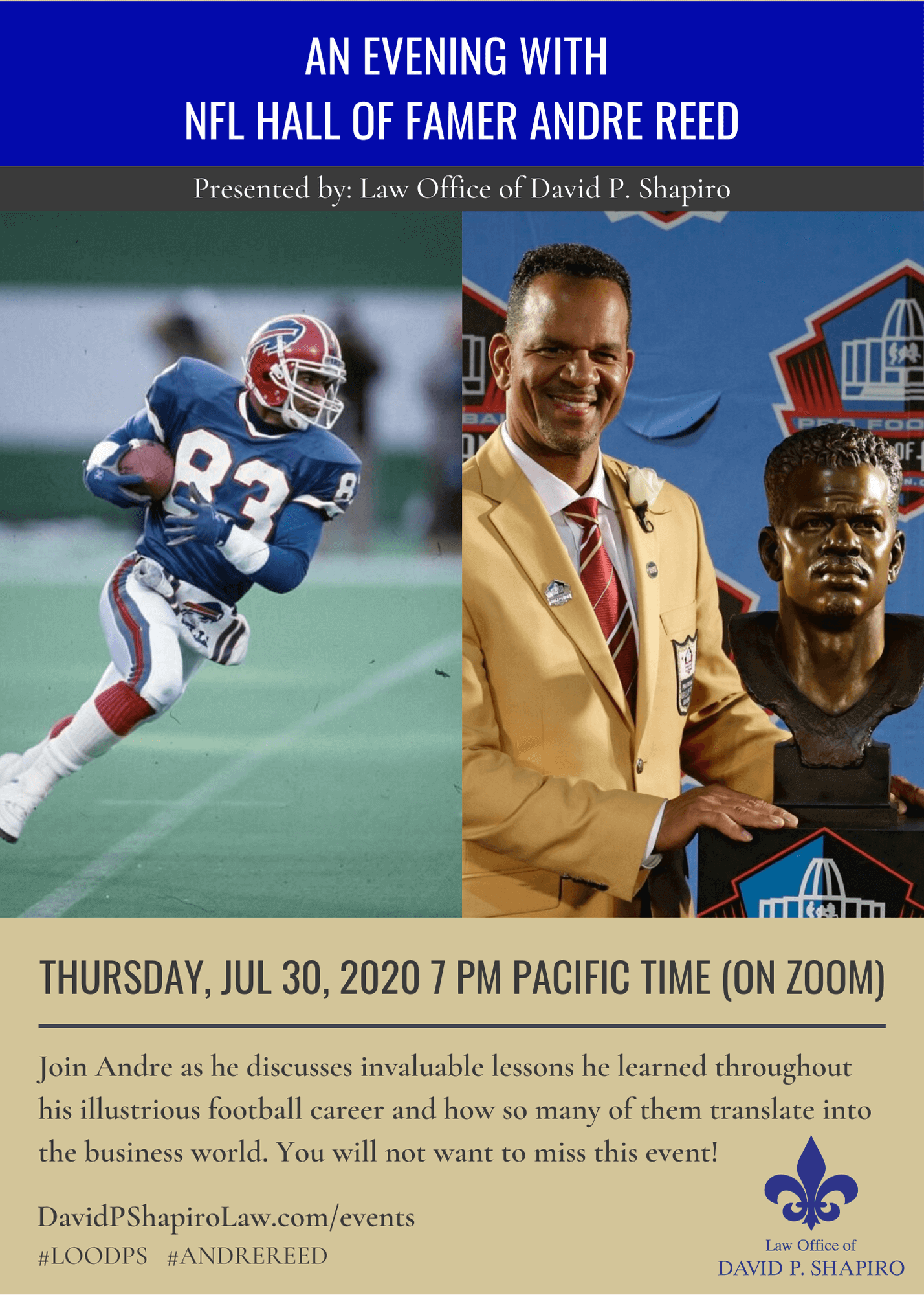 Andre Reed Event