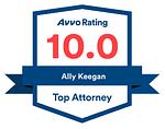 Ally Avvo rating 10
