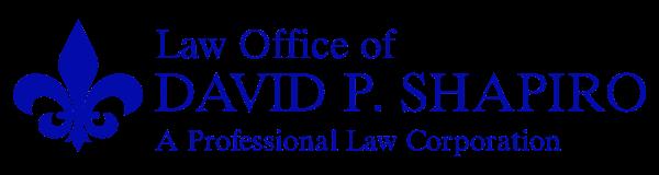 Law Office of David P. Shapiro, San Diego Criminal Defense Attorneys
