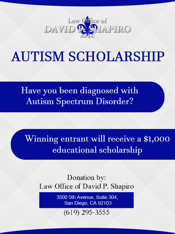 Autism Scholarship