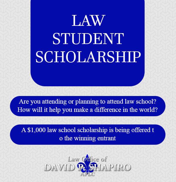 Law Student Scholarship